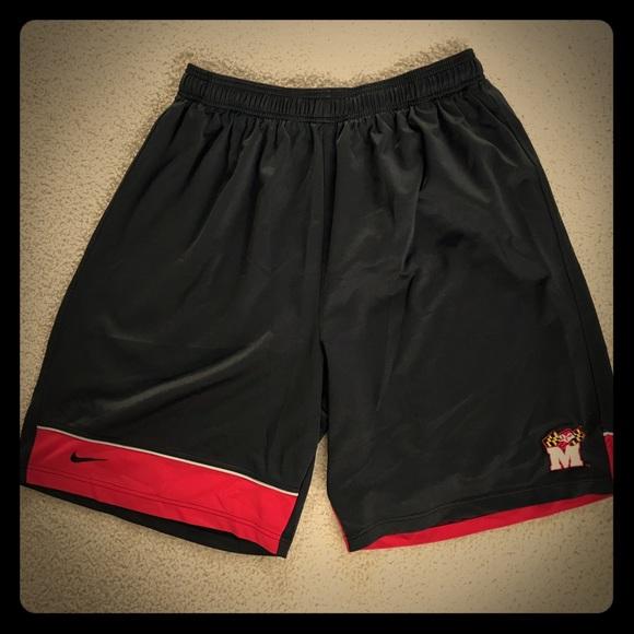 374276013449 Men s Maryland University Basketball Shorts. M 5b819ac3d8a2c726fd01c91c